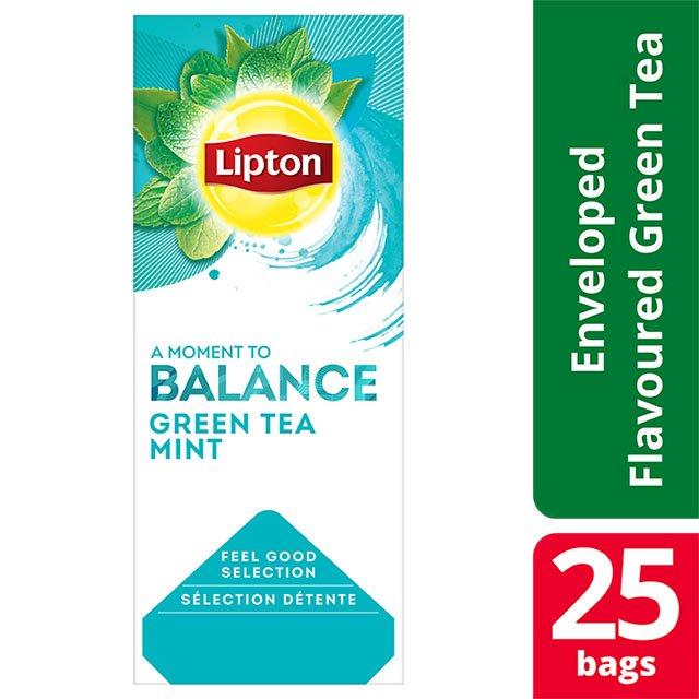 Lipton Πράσινο Τσάι Μέντα 25 Φακελάκια -