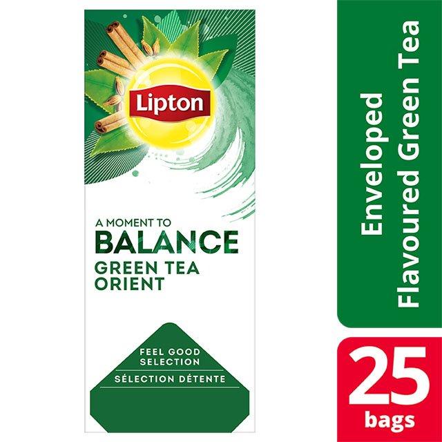 Lipton Πράσινο Τσάι Μπαχαρικά Ανατολής 25 Φακελάκια -