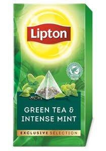 Lipton Πυραμίδα Delicate Mint 30 Φακελάκια -