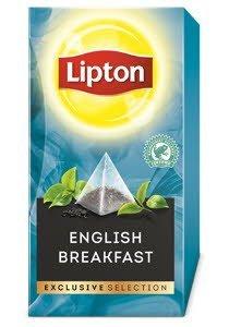 Lipton Πυραμίδα English Breakfast 25 Φακελάκια -