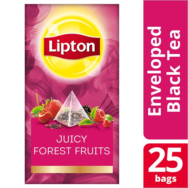 Lipton Πυραμίδα Juicy Forests Fruits 25 Φακελάκια -