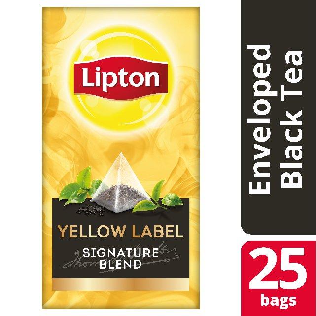 Lipton Πυραμίδα Yellow Label 25 Φακελάκια -