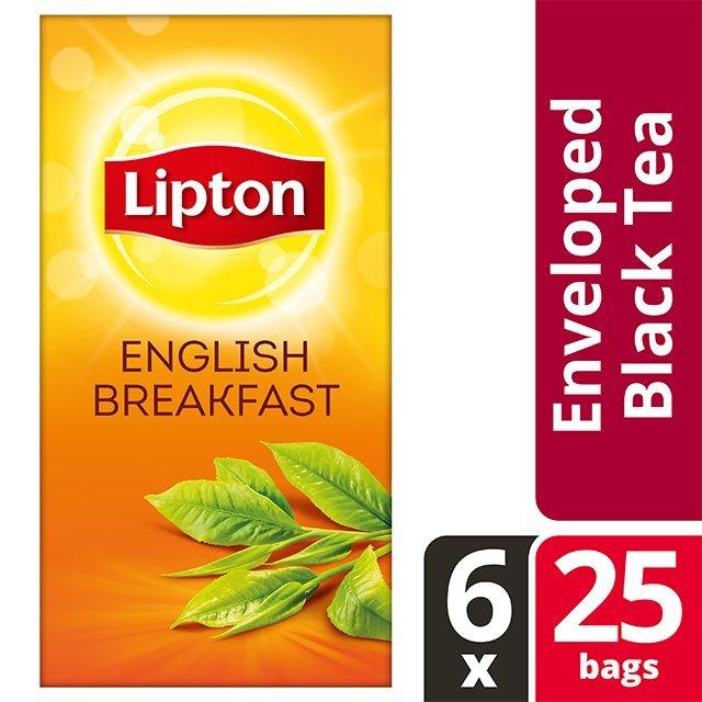 Lipton English Breakfast  25 Φακελάκια -