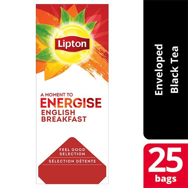 Lipton English Breakfast  25 Φακελάκια -