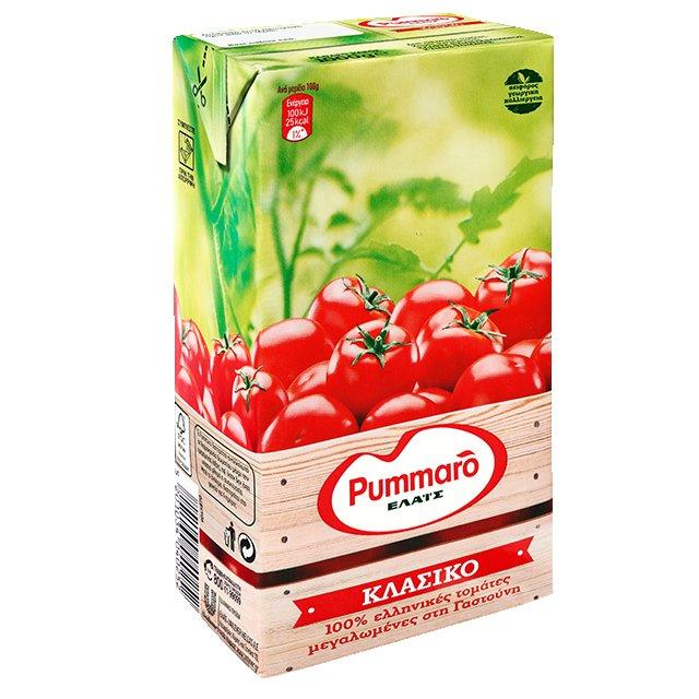 Pummaro Ελαφρά Συμπυκνωμένος Χυμός Τομάτας 1 kg -