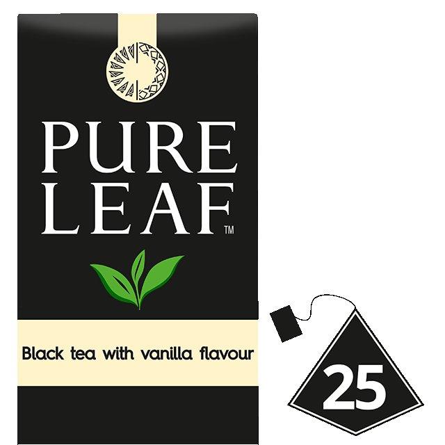 Pure Leaf Μαύρο Τσάι Βανίλια -