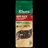Knorr Κόκκινο Ρύζι με Μπρόκολο και Αμύγδαλα 550 γρ