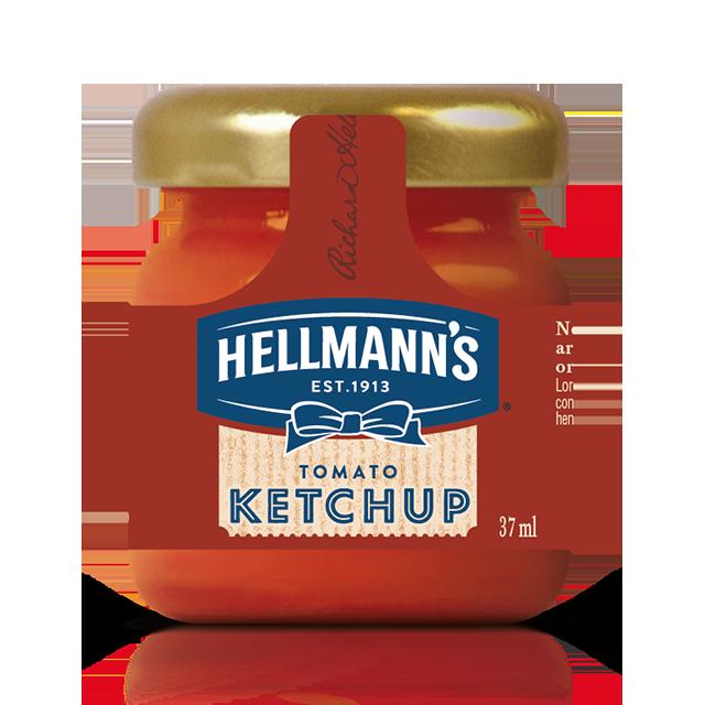Hellmann's Κέτσαπ Mini Βαζάκι 33 ml - H σειρά Hellmann's Mini me απογειώνει την εμπειρία των πελατών βάζοντας την τελευταία πινελιά στο πιάτο σας