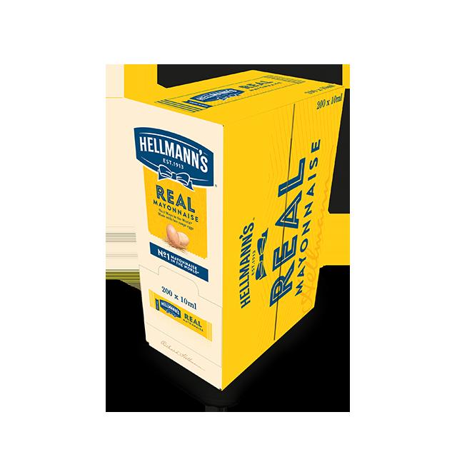 Hellmann's Μαγιονέζα Real Μεριδάκια  10 ml