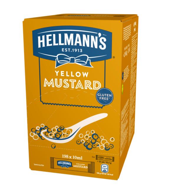 Hellmann's Μουστάρδα Μεριδάκια 10 ml