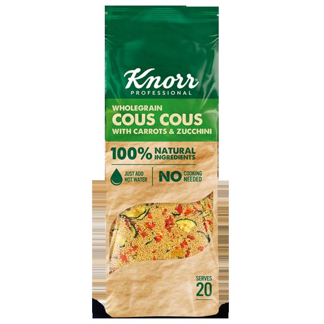 Knorr Κουσκούς με Κολοκυθάκια, Καρότα & Εσπεριδοειδή 610 γρ