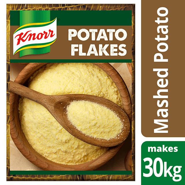 Knorr Νιφάδες Πατάτας 4 kg - Χρησιμοποιώ αποκλειστικά επιλεγμένα υλικά υψηλής ποιότητας για τα πιάτα μου.