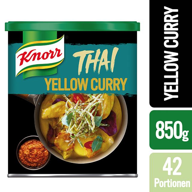 Knorr Πάστα Κίτρινο Κάρυ 850 gr