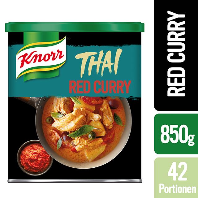 Knorr Πάστα Κόκκινο Κάρυ 850 gr - Οι πάστες κάρυ της Knorr φέρνουν αυθεντικές γεύσεις από  συνταγές προερχόμενες από την Ταϊλάνδη