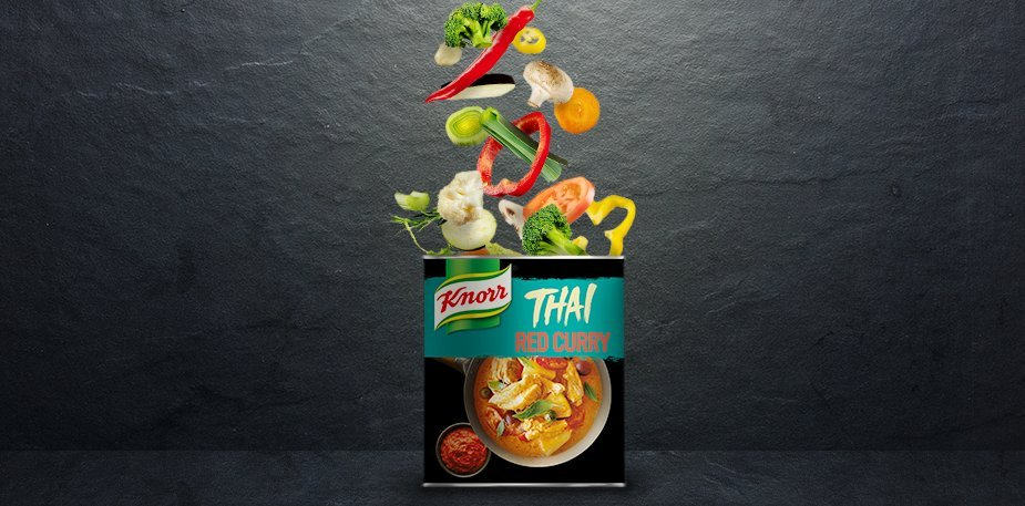 Knorr Πάστα Κόκκινο Κάρυ 850 gr - Αυθεντικές γεύσεις από συνταγές προερχόμενες από την Ταϊλάνδη