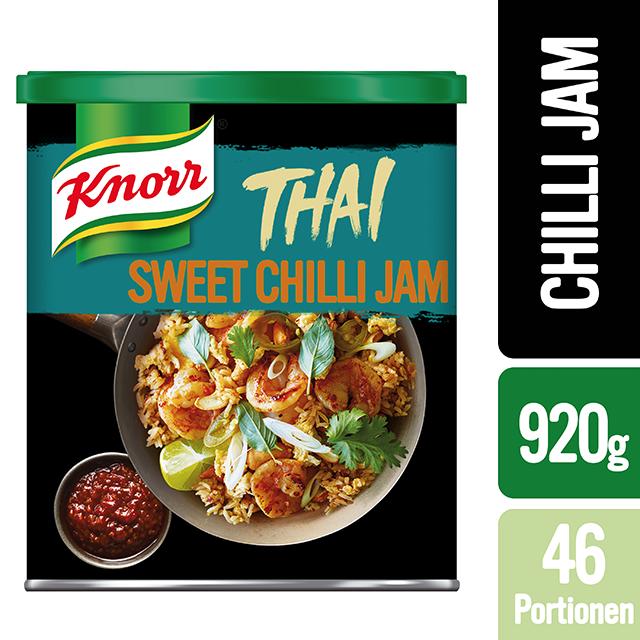 Knorr Πάστα Τσίλι 920 gr - Αυθεντική Ταϊλανδέζικη γεύση για ζεστά και κρύα πιάτα