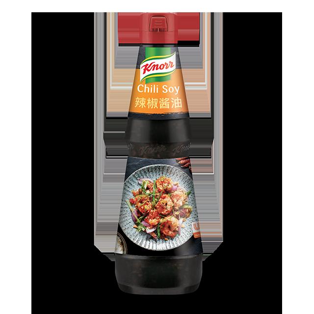 Knorr Πικάντικη Σάλτσα με Τσίλι, Σόγια και Λαχανικά 1 lt