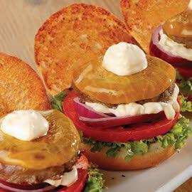 Τριλογία μοσχαρίσιου Burger