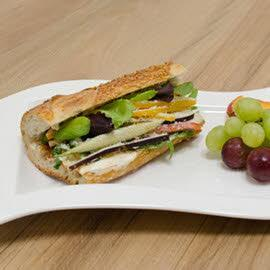 Italian Style Grilled Vegetable Sandwich