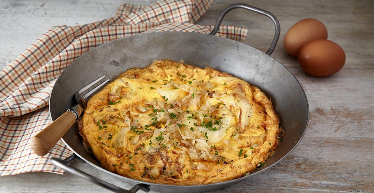 Ισπανική Ομελέτα με Πατάτα