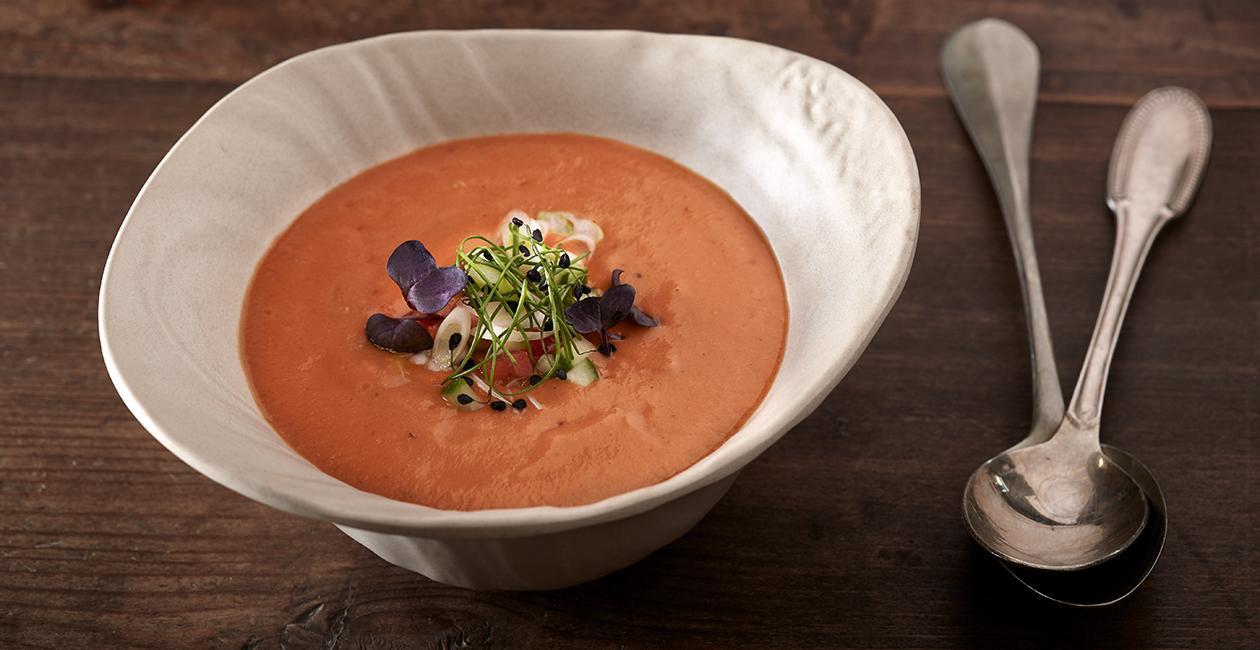 Κρύα Σούπα Τομάτας