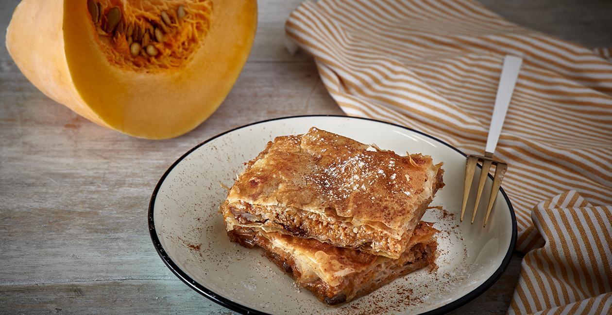 Παραδοσιακή Γλυκιά Κολοκυθόπιτα
