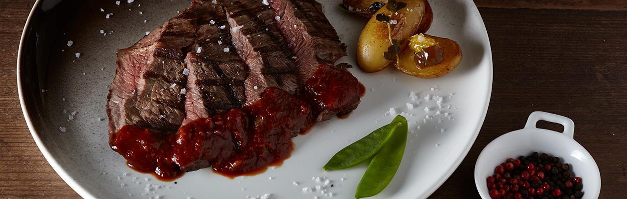 Σάλτσα με Μελάσα και Γλυκό Κόκκινο Κρασί