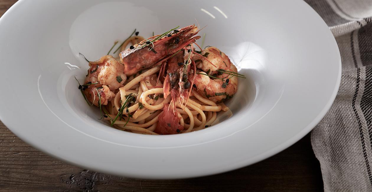 Σάλτσα Fra Diavolo με Γαρίδες