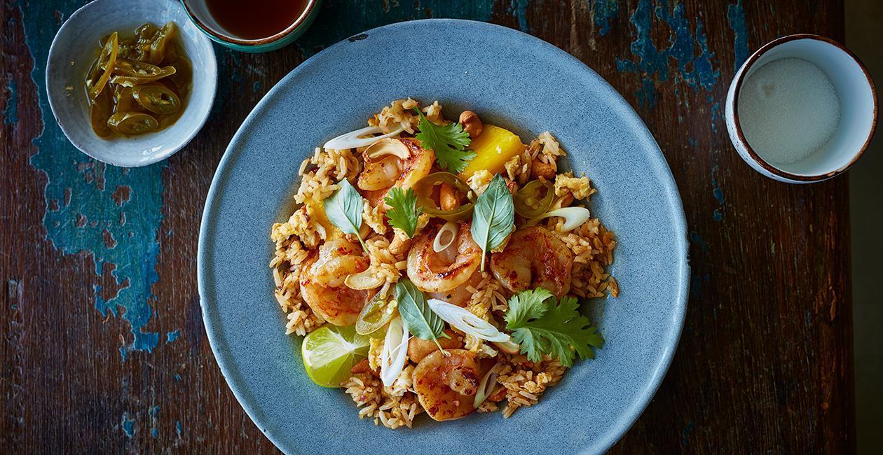 Τηγανιτό Ρύζι με Ανανά