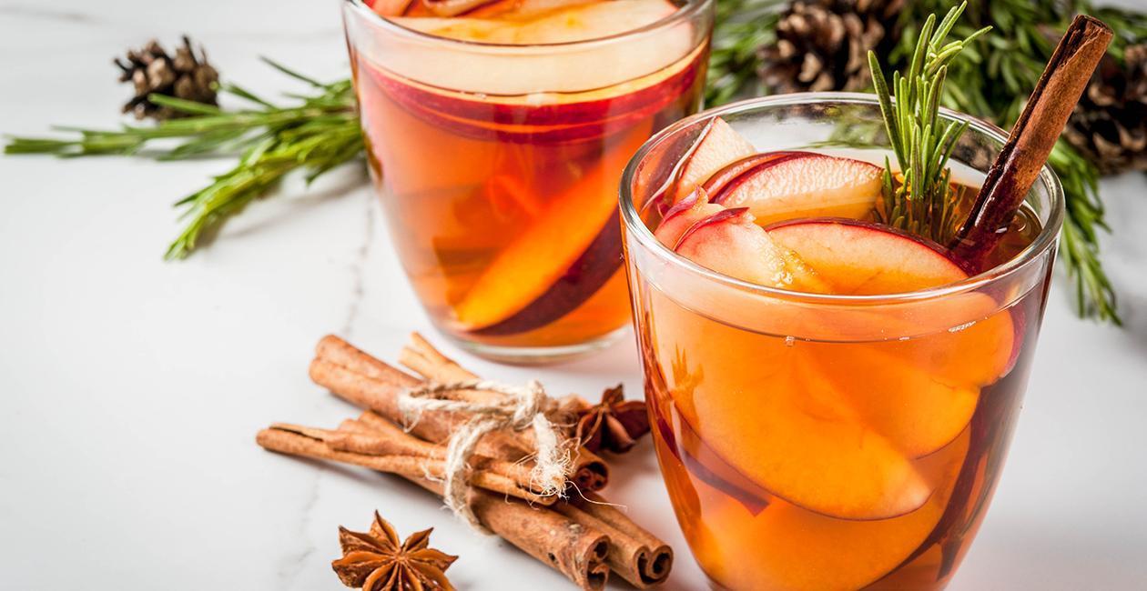 Τσάι με Μήλο, Κανέλα και Σιρόπι Κεράσι