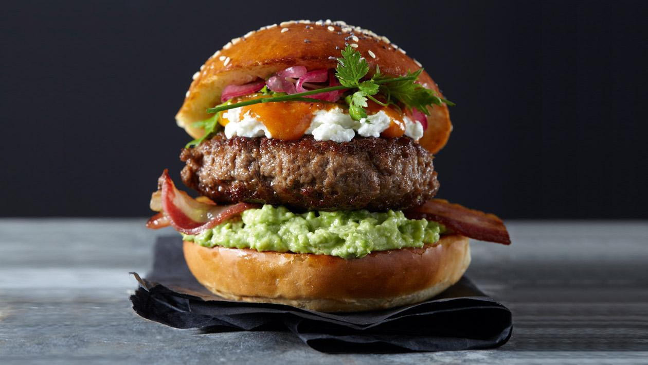 Beef New York Burger