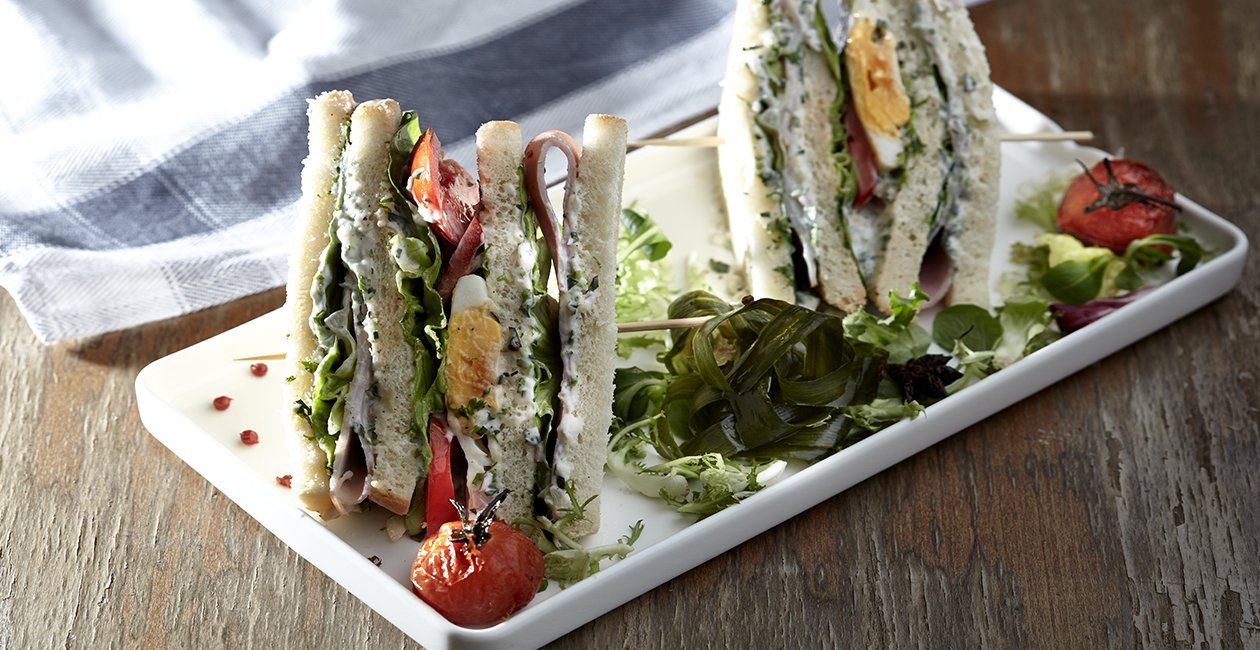 Bel Air Club Sandwich