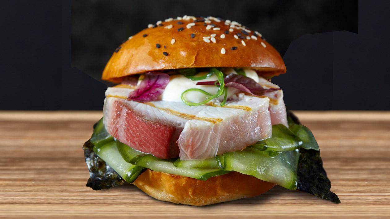 Hamachi Burger