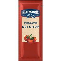 Hellmann's Real Ketchup Sachets (1000x10g)