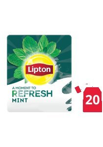 Lipton Herbal Infusion Mint (16x20 teabags)