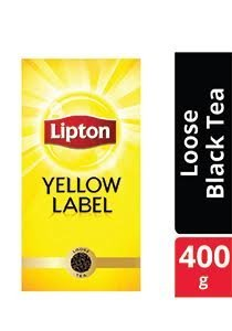 Lipton Yellow Label Black Tea Loose (24x400G)