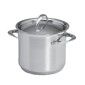 Paderno Stock Pot with Lid 24cm