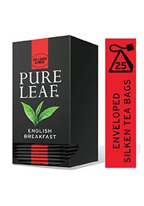 Pure Leaf English Breakfast Tea 25 Pyramid Tea Bagsx6
