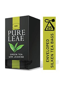 Pure Leaf Green Tea with Jasmine 25 Pyramid Tea Bagsx6