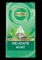 Lipton Delicate Mint (6x30 pyramid tea bags)