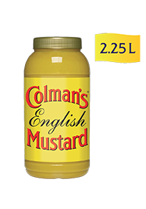 Colman's English Mustard (2x2.25L) - Unlike other mustards, we've had 200 years to perfect our recipes