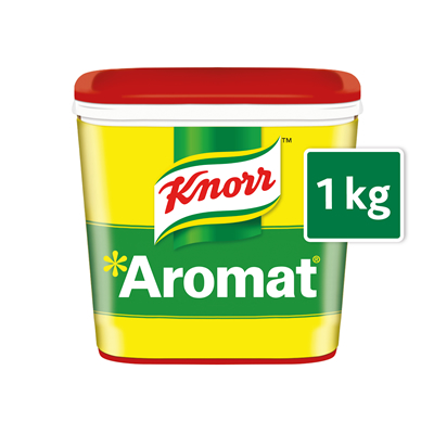 Knorr Aromat Seasoning (6x1kg) - Season your vegetarian dishes with our tasty Knorr Aromat