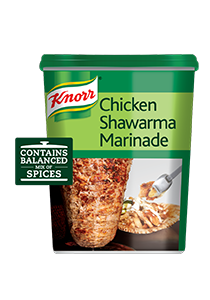 Knorr Chicken Shawarma Marinade (6x750g) - Add Knorr Shawarma Marinade to your unique ingredients for a consistent taste