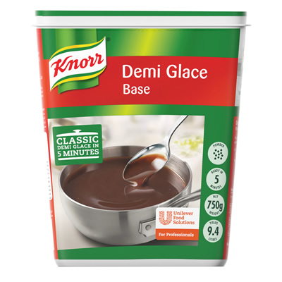 Knorr Demi Glace Sauce (6x750g) - Knorr Demi-Glace delivers the classic, meaty taste in just 5 minutes