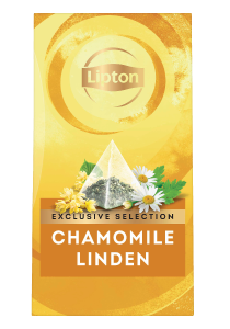 Lipton Camomile & Honey Flavour (6x30 pyramid tea bags) - Lipton Exclusive Selection offers your guests a unique tea moment