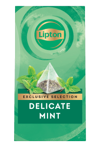 Lipton Delicate Mint (6x25 pyramid tea bags) - Lipton Exclusive Selection offers your guests a unique tea moment