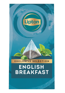 Lipton English Breakfast (6x25 pyramid tea bags) - Lipton Exclusive Selection offers your guests a unique tea moment