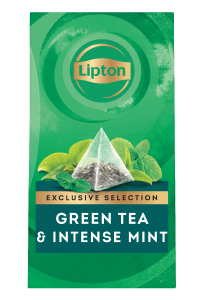 Lipton Green Tea & Intense Mint (6x25 pyramid tea bags) - Lipton Exclusive Selection offers your guests a unique tea moment