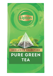 Lipton Pure Green Tea (6x25 pyramid tea bags) - Lipton Exclusive Selection offers your guests a unique tea moment