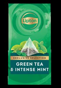 Lipton Pyramid Green Tea & Intense Mint (6x25 teabags)